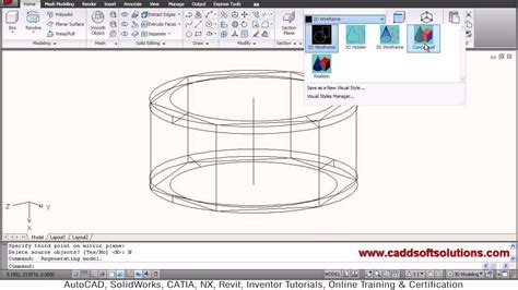 Autocad Nut Tutorial | autocad 3d nut tutorial youtube
