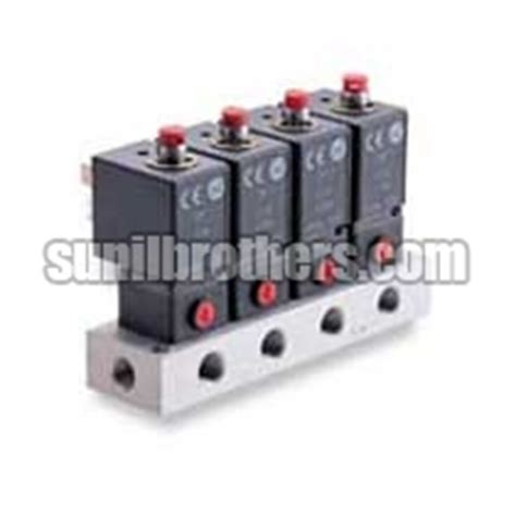Sub Base Mounted Valve 5 2 Iso5599 1 Iso 2 Valve Univer Be 4020 solenoid actuated valves solenoid operated valves solenoid