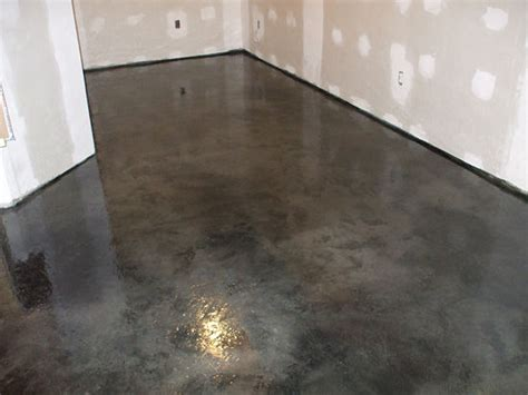 How To Get Stains Out Of Concrete Floors by How To Acid Stain Concrete 6 Steps Wikihow I This
