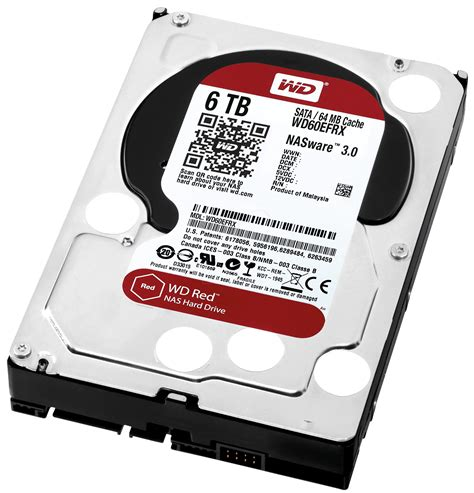 Hardisk Wd Int 3 5 Quot wd60efrx int hdd 3 5 sata 3 0 6tb wd at reichelt