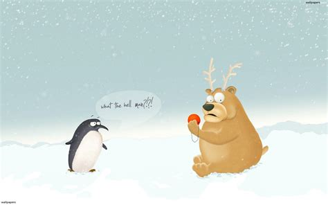 funny christmas backgrounds wallpaper cave