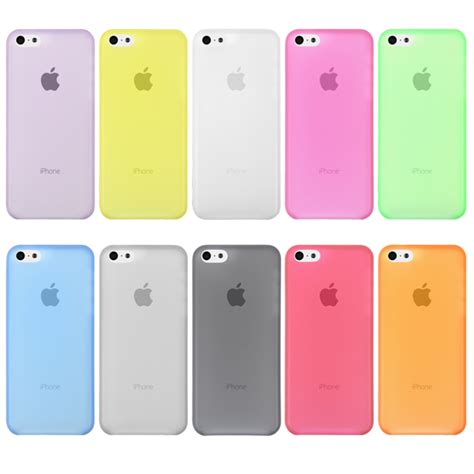 Iphone 5c Ume Jelly Ultra Thin Cover ultra thin 0 3mm soft clear matte frosted back cover