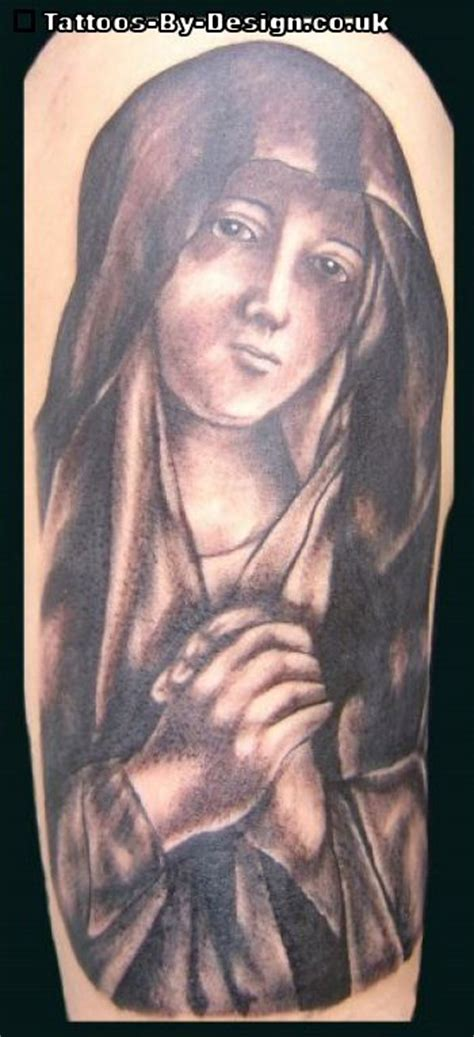 virgin mary tattoo black and grey virgin mary black and grey tattoo