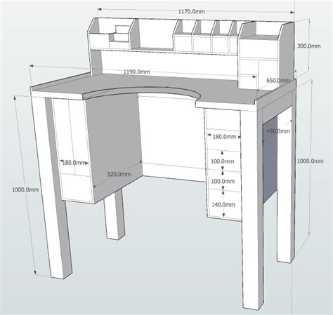 jewelry bench plans jewelers bench sketchup plans