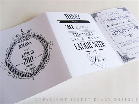 3 fold wedding invitations luxury vintage wedding stationery tags and gifts by