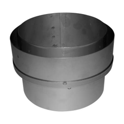 Chimney Liner Flue Adapter - 6 quot to 6 quot adapter flue to liner