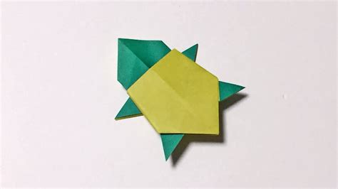 paper turtle origami turtle easy  cool   paper origami animal  kids