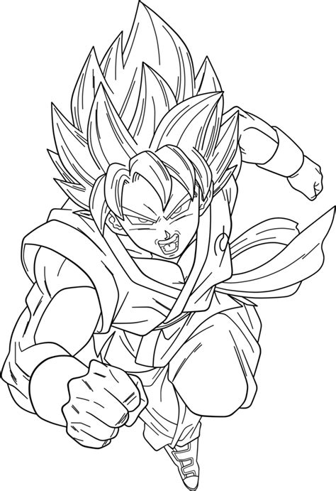 coloring pages goku ssg goku coloring pages az coloring pages