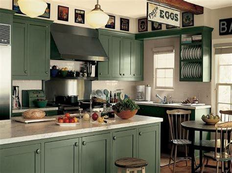 green kitchen paint ideas two toned kitchen cabinets pictures options tips