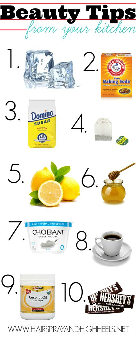 kitchen tip beauty tips from your kitchen total beauty tips