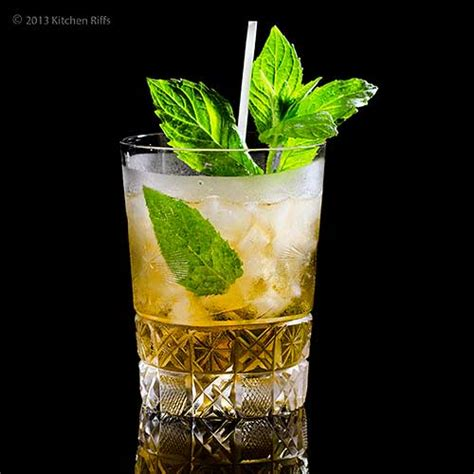 mint julep cocktail kitchen riffs the mint julep