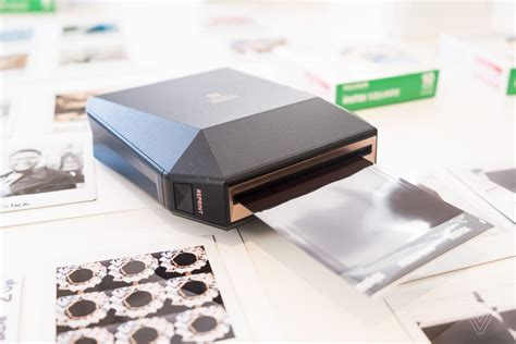 Printer Fujifilm fujifilm made a mobile printer for its new square format the verge
