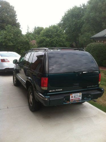 chevrolet blazer lt 1998 sell used 1998 chevy blazer lt 4x4 in indianapolis indiana united states
