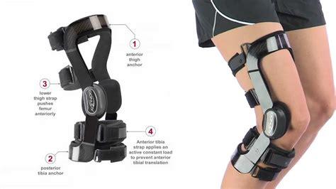 how to make a knee brace donjoy fullforce hinged knee brace