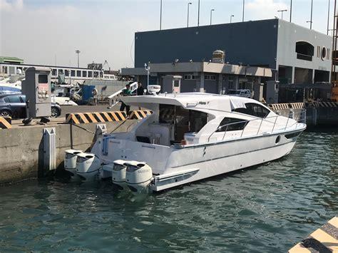 catamaran outboard 2018 mares catamaran 45 outboard express motore barca in