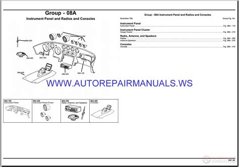 auto manual repair 1997 dodge stratus spare parts catalogs chrysler dodge viper sr parts catalog part 2 1997 1999 auto repair manual forum heavy