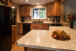 Black Laminate Kitchen Cabinets Laminate Countertops Black Appliances Birch Cabinets Craftsman Kitchen Portland By