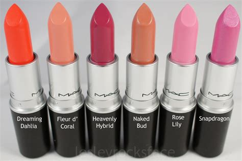 mac lipstick colors and names mac a of flowers lipsticks photos swatches