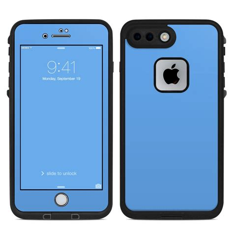 lifeproof iphone 7 plus fre skin solid state blue by solid colors decalgirl