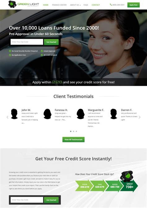 Green Light Auto Credit by Green Light Auto Credit Debuts New Interactive Car