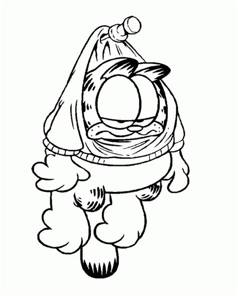 garfield coloring pages pdf garfield coloring pages garfield stuck up coloring page