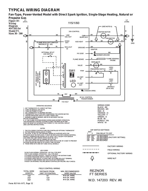 reznor gas heater wiring diagram wiring diagram with