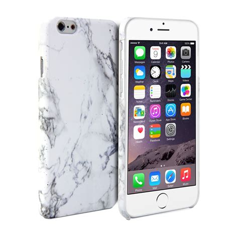 Tpu Softcase Luxury Shining List Chrome Apple Iphone 6 6s iphone 6 print white marble