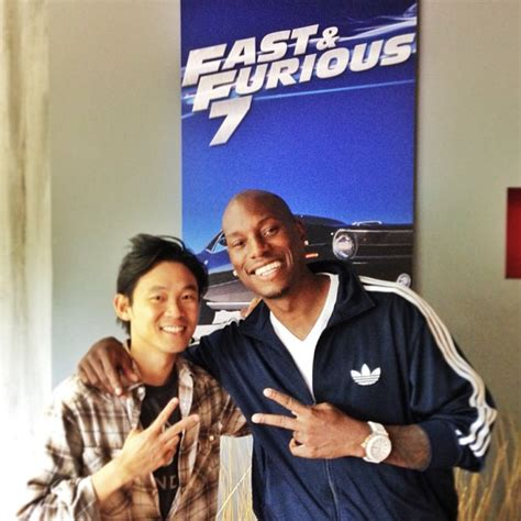 fast and furious 8 james wan james wan tyrese gibson e un anteprima del poster di fast