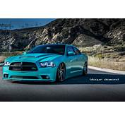 Dodge Charger RT Blue Daytona Modified Cars Tuning Wheels