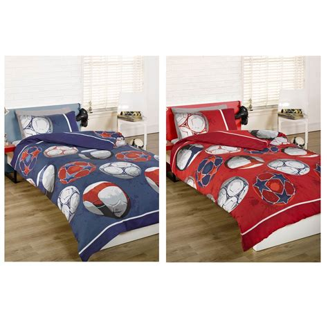 football bedding set football single doona cover bedding set boys children s
