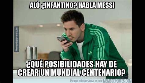 Memes De Lionel Messi - lionel messi pierde final de copa am 233 rica y es blanco de