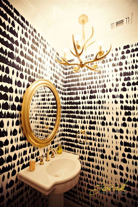 Tiny Powder Rooms 21 best images about wallpaper on pinterest offices