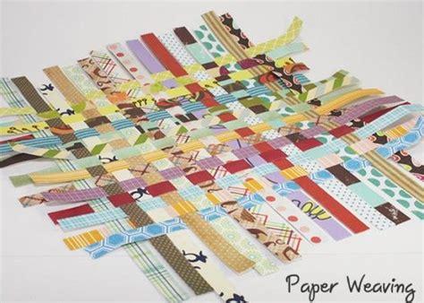 paper weaving scrapbook techniques