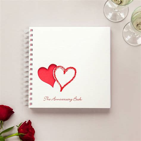 Wedding Anniversary by 1st To 50th Wedding Anniversary Memory Book By Two