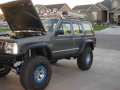 jeep xj grey grey 1988 jeep xj build auto w 4 0 engine gpr dna