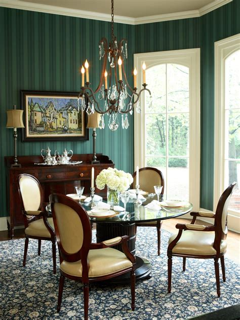 Green Dining Room Photo Page Hgtv
