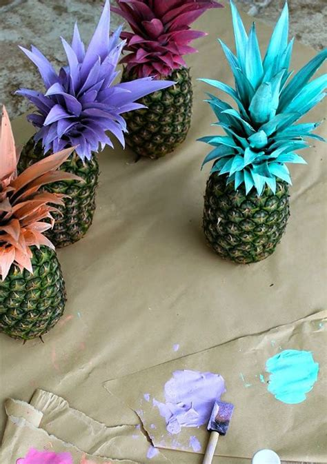 pineapple table decorations 15 must see pineapple wedding ideas no worries wedding