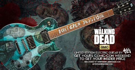 Sweepstakes Guitar - walking dead sweepstakes guitar alexandria trip code words l7 world