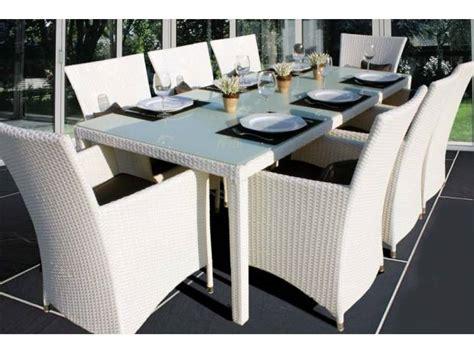 tavolo rattan bianco tavolo 8 poltroncine rattan bianco cuscini 17 pzz recco