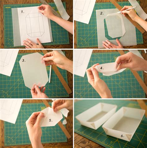How To Make A Tray Out Of Paper - styled eats mini dogs diy food containers