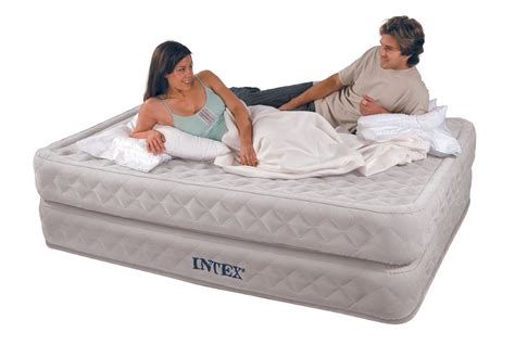 Intex Supreme Air Flow Air Bed Mattress by Intex Supreme Air Flow Airbed Flocked Review