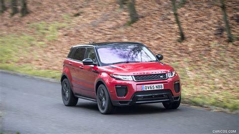 2016 range rover evoque caricoscom 2016 range rover evoque hse luxury dynamic red front