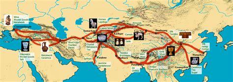 ancient trade maps atlas silk road trade routes map
