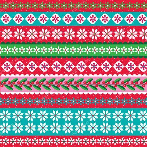 nordic christmas pattern vector nordic christmas pattern stock vector 69304527