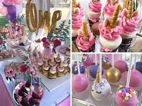 magical unicorn first birthday party birthday party