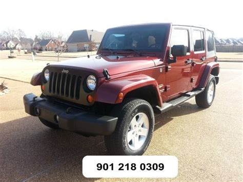 Jeeps For Sale In Mississippi 2007 Jeep Wrangler Unlimited For Sale In Hernando Ms