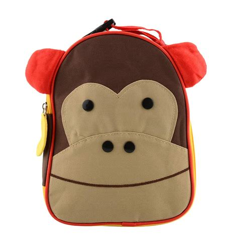 Bag Animal Monkey monkey mini bag animal insulated lunch bag