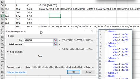 xml layout exle convert excel data to json csv and xml format collections
