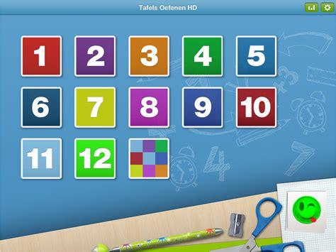 app tafels oefenen tafels oefenen hd leren vermenigvuldigen op de ipad