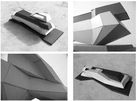 How To Make 3d Paper Models - architecture interior design by shaun max mergulhao at